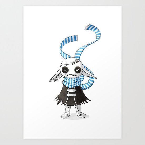 Rag Doll Art Print