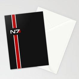 Mass Effect N7 emblem Stationery Cards