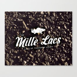 LAKE MILLE LACS Canvas Print