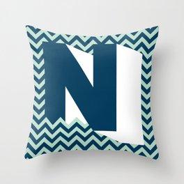 N. Throw Pillow