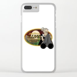 Jenny O'Meara's Saloon Clear iPhone Case