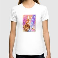 posters T-shirts featuring Paris Posters - Cupid + Psyche by G_Stevenson