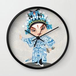 Beijing Opera Character ShiXu Wall Clock