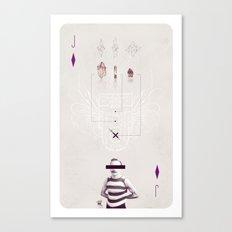 Jack of Diamonds Canvas Print