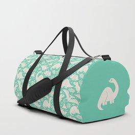 Delightful Dinos (teal) Duffle Bag