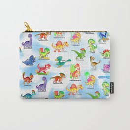 Chibidinos Watercolors Summer 2018 Carry-All Pouch