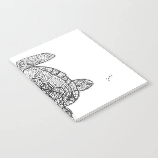 Sharpie Turtle Notebook