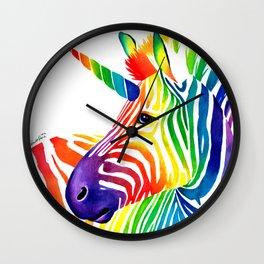 Zebracorn Wall Clock