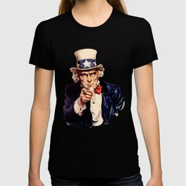 Uncle Sam Pointing Finger T-shirt