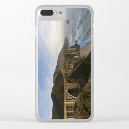 Bixby Bridge at Big Sur Clear iPhone Case