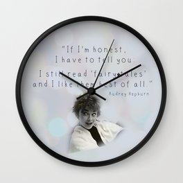 fairy tales Wall Clock
