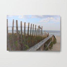 Maine Beach Metal Print