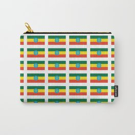 flag of Ethiopia 2-ኢትዮጵያ, የኢትዮጵያ ,Amharic,  Ethiopian, Addis Ababa. Carry-All Pouch