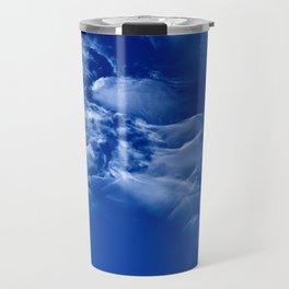Dark blue sky Travel Mug