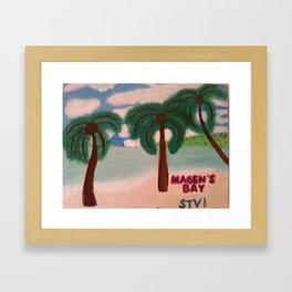 Magen's Bay Framed Art Print