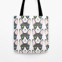 Odd-Eyed Sphinx Tote Bag