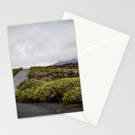 Volcanic landscape of Lanzarote - travel photography Stationery Cards