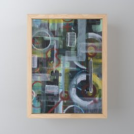 Abstract 1017 Framed Mini Art Print