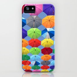 umbrella new color colour life art vibe 2018 iPhone Case