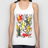 dragons Tank Tops featuring Dragons by Ruthy Sarwal