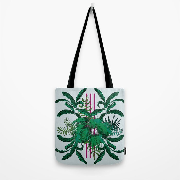 Tropical Queen Tote Bag