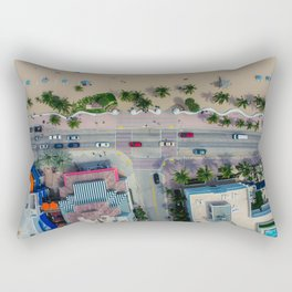 beach house street Rectangular Pillow