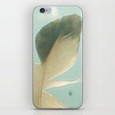 Grey Feather iPhone Skin
