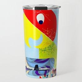 My Parrot - Vintage Art Print Travel Mug