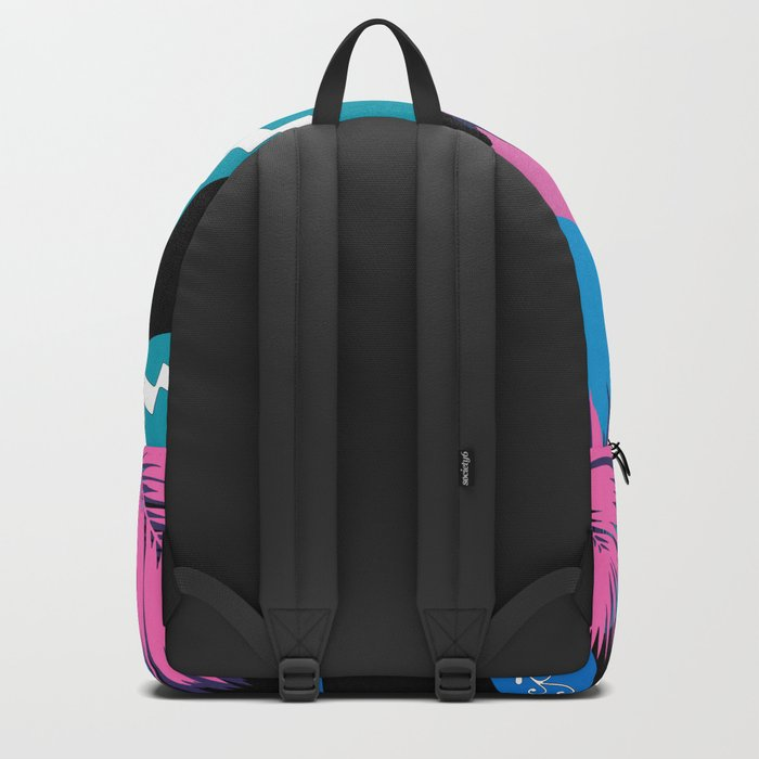 tropical love colors Backpack