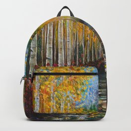 Nelly Creek painting of Uncompahgre National Forest Backpack