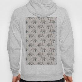Aardvark Pattern Hoody