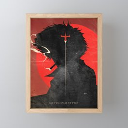 Cowboy bebop Framed Mini Art Print