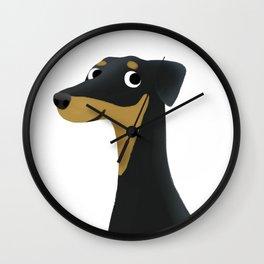 Doberman - Cute Dog Series Wall Clock