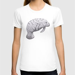 Manatee (Trichechus manatus) T-shirt
