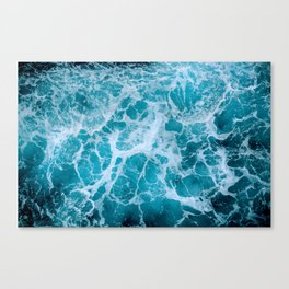 Living Ocean  v5- Aqua Canvas Print