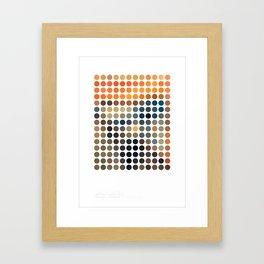 The Screen - Edvard Munch Framed Art Print