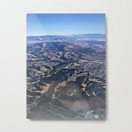 Land below Metal Print