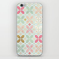 moroccan iPhone & iPod Skins featuring MOROCCAN TILE by Monika Strigel