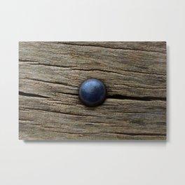 Wood and iron Metal Print