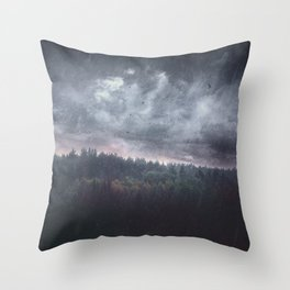 The hunger Throw Pillow