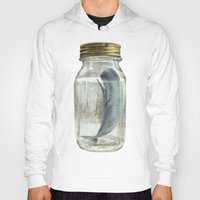 surrealism Hoodies featuring Extinction by Terry Fan