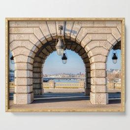 Bercy bridge archs - Paris Serving Tray