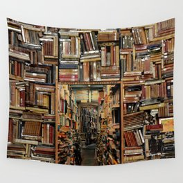 So many books, so little time. Wall Tapestry