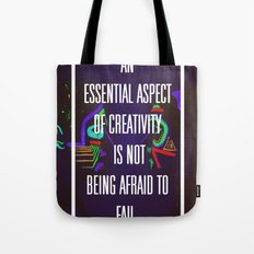 Not Being Afraid to Fail Tote Bag