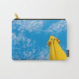 {Italy} - Blue and Yellow - Palermo Carry-All Pouch