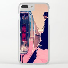 Pull Up To My Bumper Clear iPhone Case