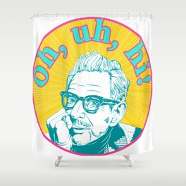 Hello From Jeff Goldblum Shower Curtain