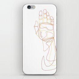 Made of Glass iPhone Skin