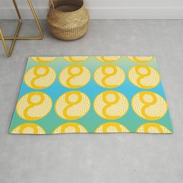 """Author's Project """"RA"""" by Victoria Deregus Rug"""