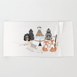 Be Brave, Little One Beach Towel